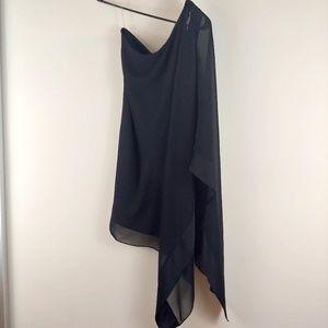 Double Zero One Shoulder Dress